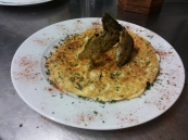 Tortillla de bacalao
