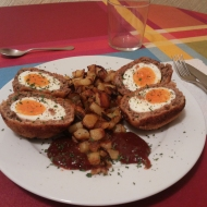 Huevos a la escocesa