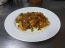Pollo estilo indio