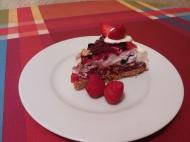 tarta de frutos del bosque