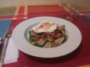 Alcachofas con bacon