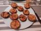 Mini quiches de chorizo