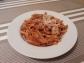 Pasta con salsa de tomates secos