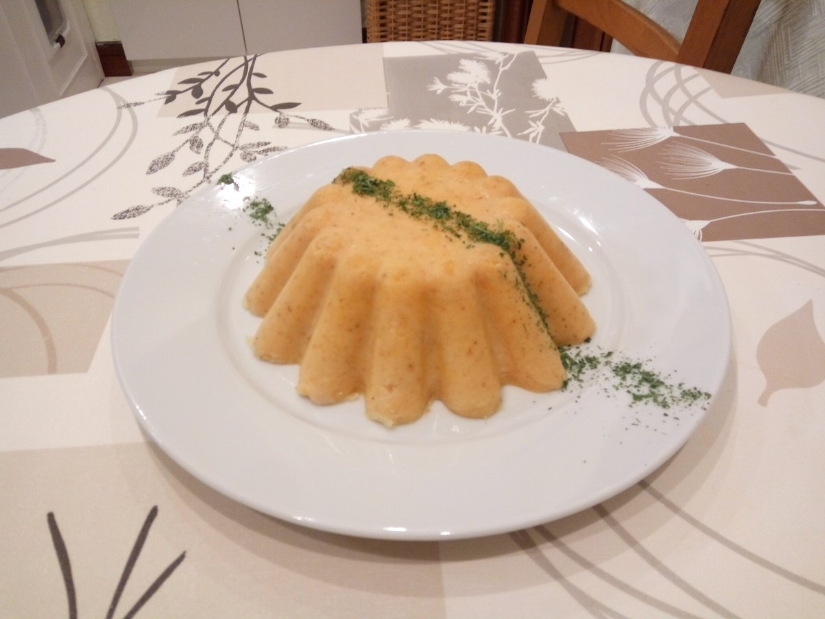 Pastel de pescado.