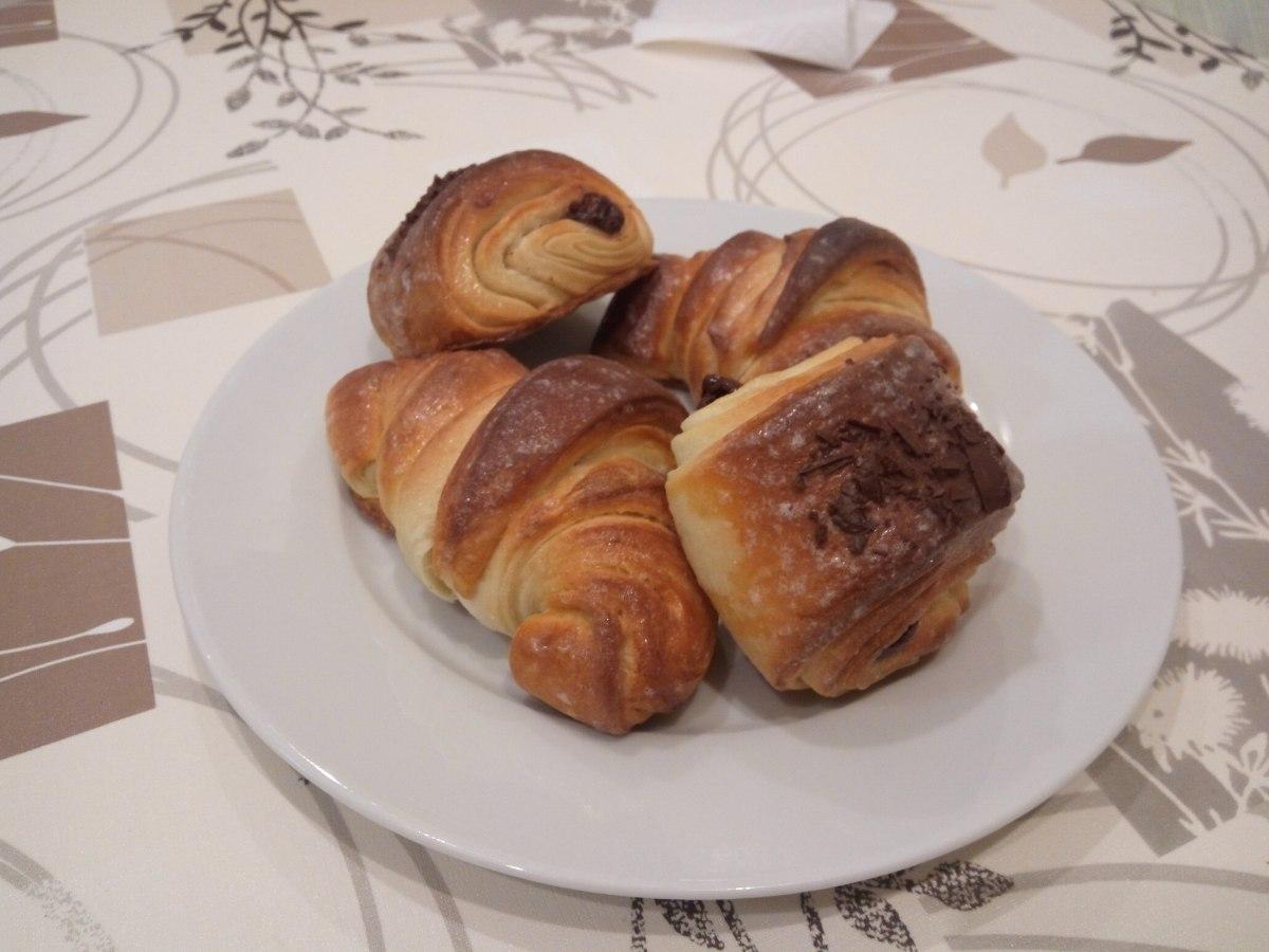 Hojaldre para croissant y napolitanas.