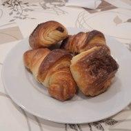 Croissants y napolitanas
