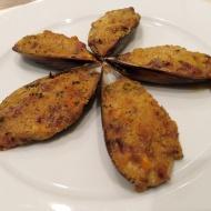 Mejillones gratinados